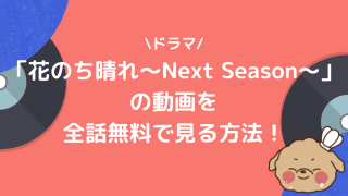ドラマ「花のち晴れ〜Next Season〜」の動画を全話無料で見る方法!【あらすじ・みどころ】